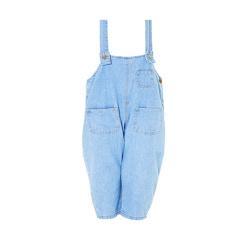 儿童抗菌薄款防蚊背带裤